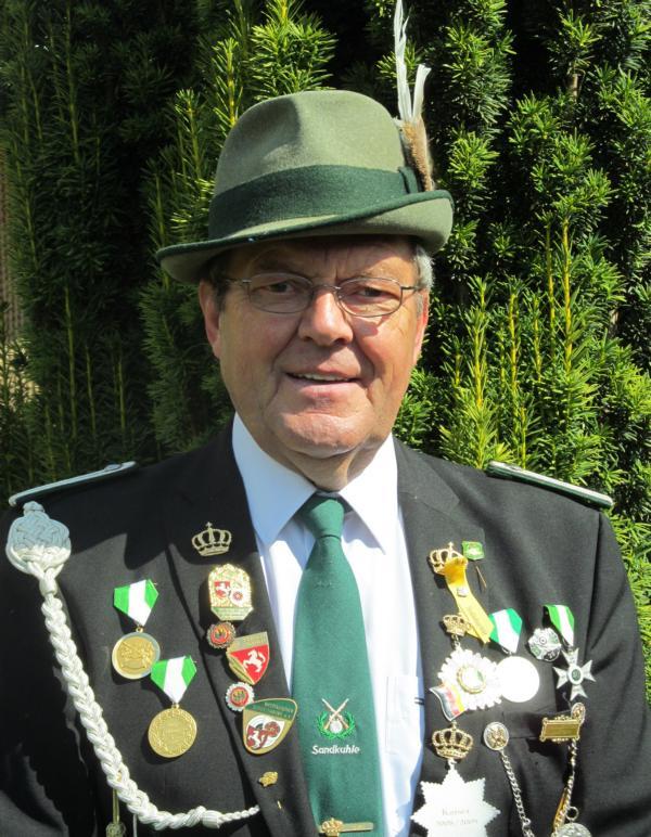 Sportleiter Günther Ehrentraut